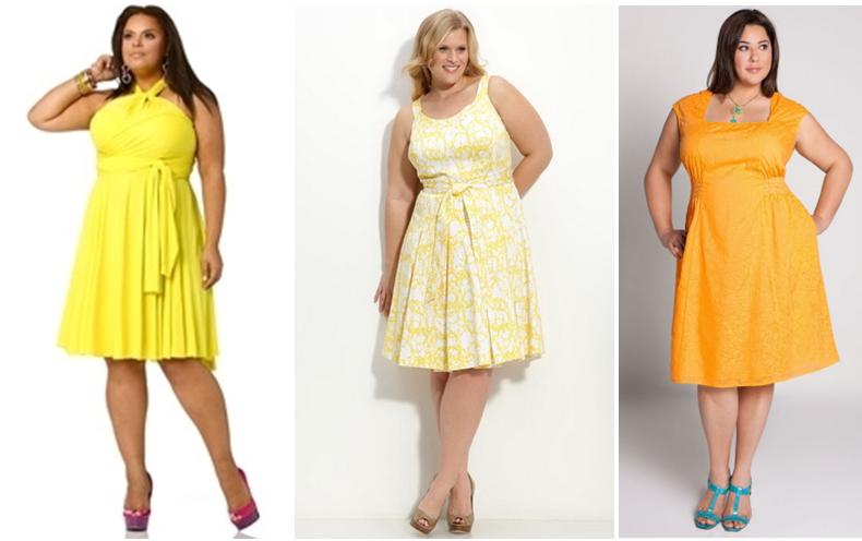 Летние платья для полных девушек и цены