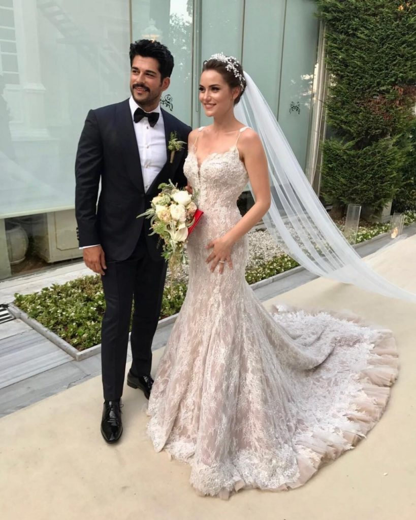 Бурак озчивит свадьба 2018 фото