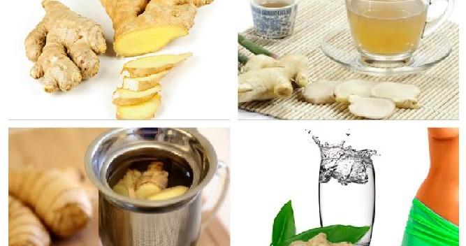 как пить имбирь чтобы похудеть