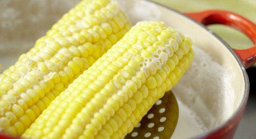 Как варить кукурузу в молоке