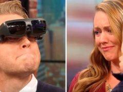 Парень был слепым с 16-ти лет, но теперь он смог увидеть своих жену и сына впервые в жизни!