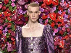 Испанский дизайнер Palomo представил новую коллекцию мужской одежды на Нью-Йоркской Неделе моды
