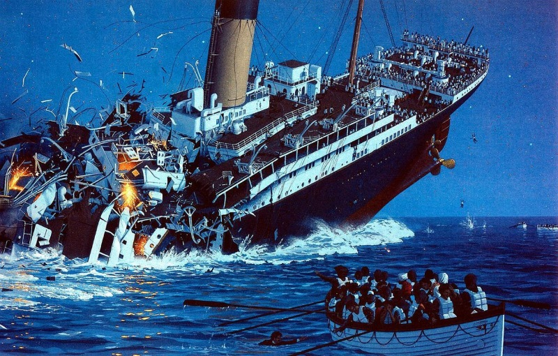 human neglect and other reasons behind the sinking of the titanic The purpose of this article is to discuss the extent to which the factors involved in the sinking of the titanic human and organizational reasons  neglect to.