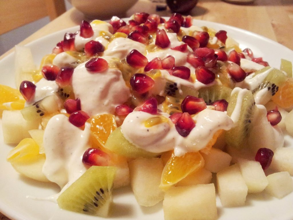 фруктовый салат пошаговый рецепт с фото газон идеален