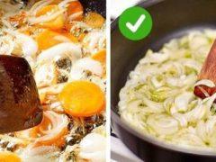20 кулинарных ошибок, ухудшающих вкус ваших блюд