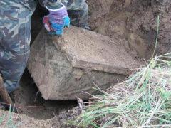 Археологи обнаружили таинственный закрытый ящик эпохи Второй мировой войны