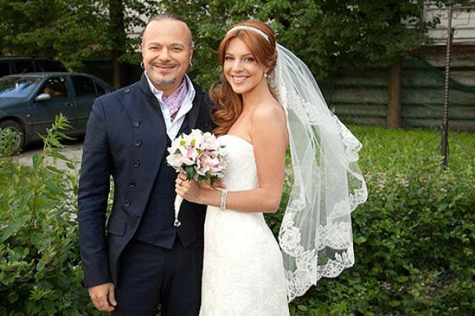 Российские знаменитости и их свадьбы фото