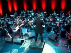 «Группа крови» В. Цоя в исполнении Президентского оркестра Республики Беларусь