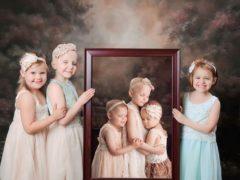 Фото этих больных раком девочек облетело мир, вот какими они стали через три года