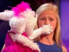 Девочка-чревовещатель и ее кролик очаровали весь зал, аплодисменты не смолкали