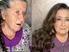 Известный визажист Гоар Аветисян полностью преобразила внешность своей бабушки