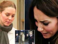Кейт Мидлтон настолько плохо себя чувствует, что не смогла отвести принца Джорджа в первый класс