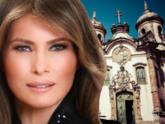 """""""Невинные"""" наряды первой леди Мелании Трамп, в которых она предпочитает посещать церковь"""