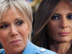 Бьюти-битва между двумя иконами стиля: Бриджит Макрон бросила вызов Мелании Трамп