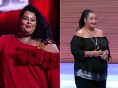 """""""Яиспугалась ипросто перестала жрать!"""" Звезда """"Голоса"""" рассказала, что заставило ее похудеть на 65 кг"""