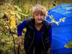 Рай в шалаше: пожилая женщина около года живет одна в глухом лесу под Уральском