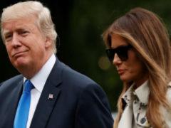 Замена первой леди: Трамп появляется на публике с двойником жены, поразительно похожим на нее
