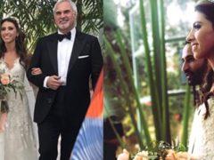 Старшая дочь Меладзе и ее супруг сыграли необыкновенной красоты свадьбу в Марракеше