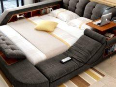 Новинка в мире современной мебели: чудо-кровать, которую не захочется покидать никогда