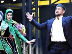 Пели и плясали: весь бомонд приехал в Чечню на день рождения Рамзана Кадырова