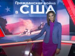 Ольга Бузова попробовала себя в роли ведущей новостей образовательного канала
