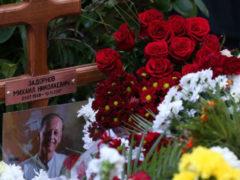 Похороны Михаила Задорнова: обе жены сатирика проводили супруга в последний путь