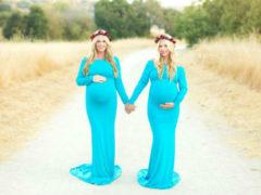 Удивительный случай: сестры близнецы родили детей, похожих друг на друга как две капли воды