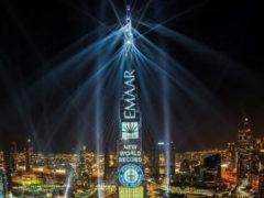 Самое грандиозное световое и звуковое новогоднее шоу в Дубае занесено в Книгу рекордов Гиннеса