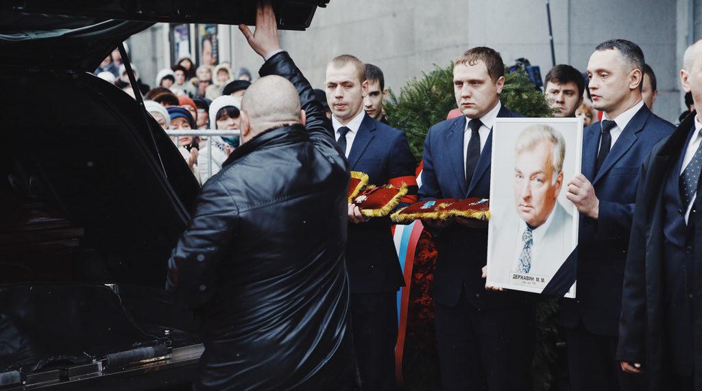Словно предчувствуя скорую смерть, Михаил Державин заранее попрощался со зрителями