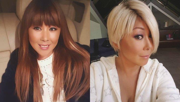 Анита Цой изменила цвет волос и отрезала длину, чтобы выглядеть моложе, но поклонники не оценили