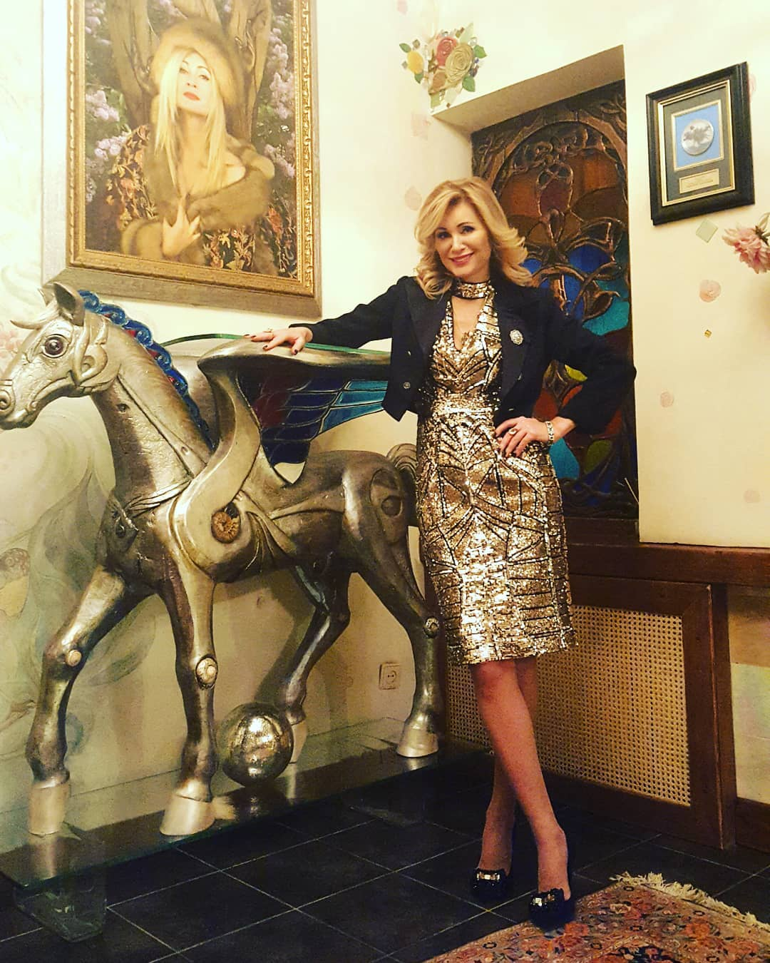 Феноменально помолодевшую Вику Цыганову не пустили в Кремль, перепутав с Марией Кожевниковой