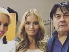 После страстных поцелуев с известным певцом Дана Борисова намекнула на то, что тоже беременна