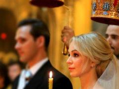 С цыганами и казаками: свадьба Ирины Медведевой с французским бизнесменом поражает воображение