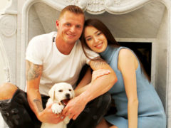 «Папина копия»: Дмитрий Тарасов и Анастасия Костенко впервые показали лицо новорожденной дочери