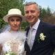 После громкого развода Екатерина Архарова вышла замуж второй раз в эффектном комбезе с перьями