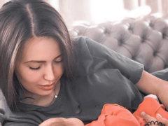 Дмитрий Тарасов доказал, что его жена кормит дочь самостоятельно, опубликовав слишком личные кадры
