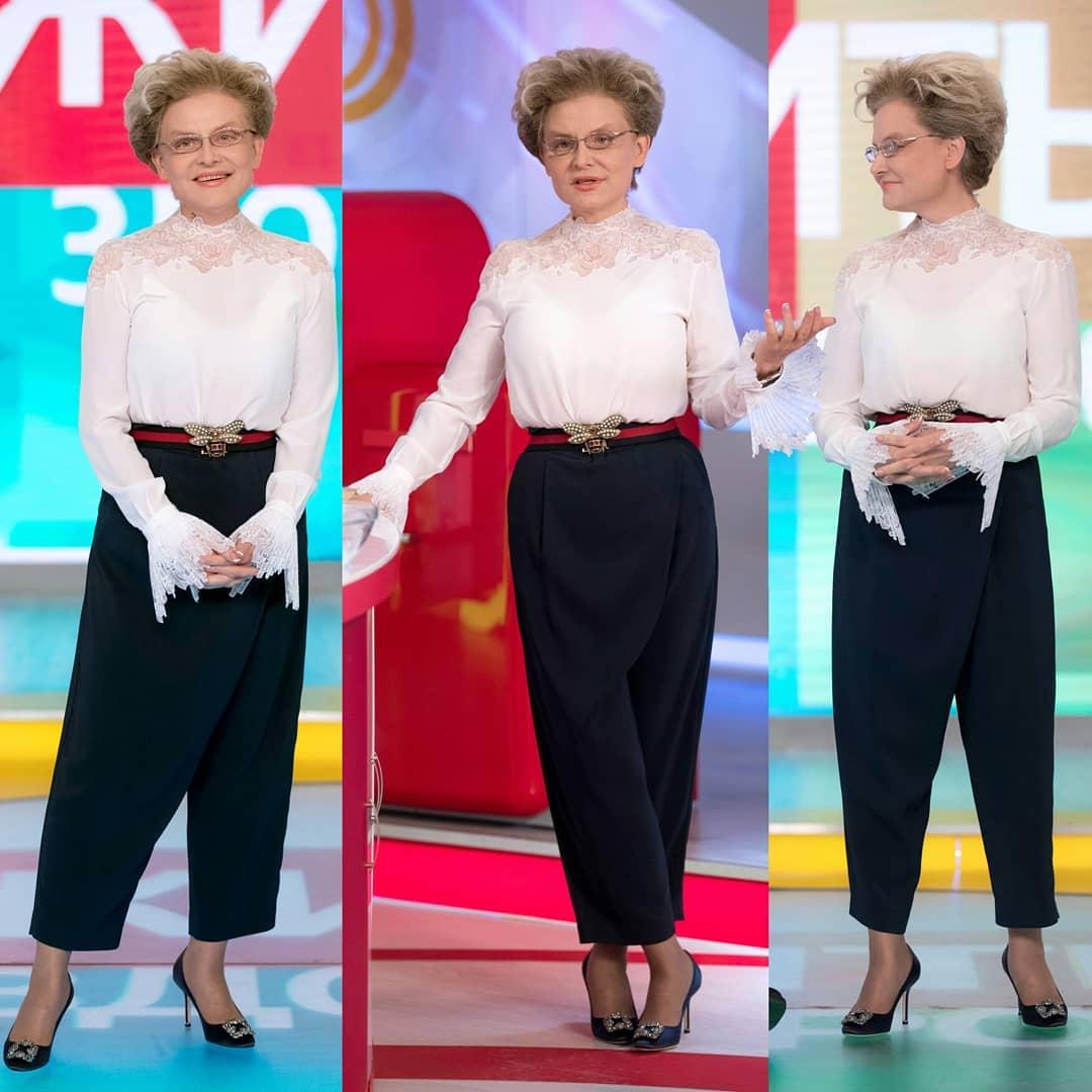 Известный стилист пояснила, почему у стройной Малышевой все равно не выходит выглядеть свежее и моложе