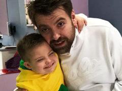 Сына Бледанс госпитализировали в Москве, пока его мать готовится к рождению еще одного ребенка