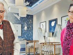 Беременная ассистентка Петросяна с шиком оформила детскую: у юной любовницы юмориста будет двойня
