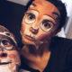 Без стеснения сняли на камеру: Муцениеце и Прилучный показали, как резвятся в постели в масках животных