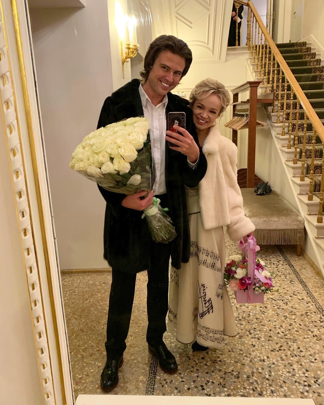 Цымбалюк-Романовская запела: Прохор Шаляпин поддержал Виталину и назвал ее своей путеводной звездой