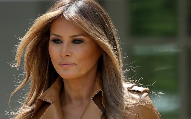 Меланья Трамп изменила внешность и ее подняли на смех: жену президента США сравнивают с горчицей