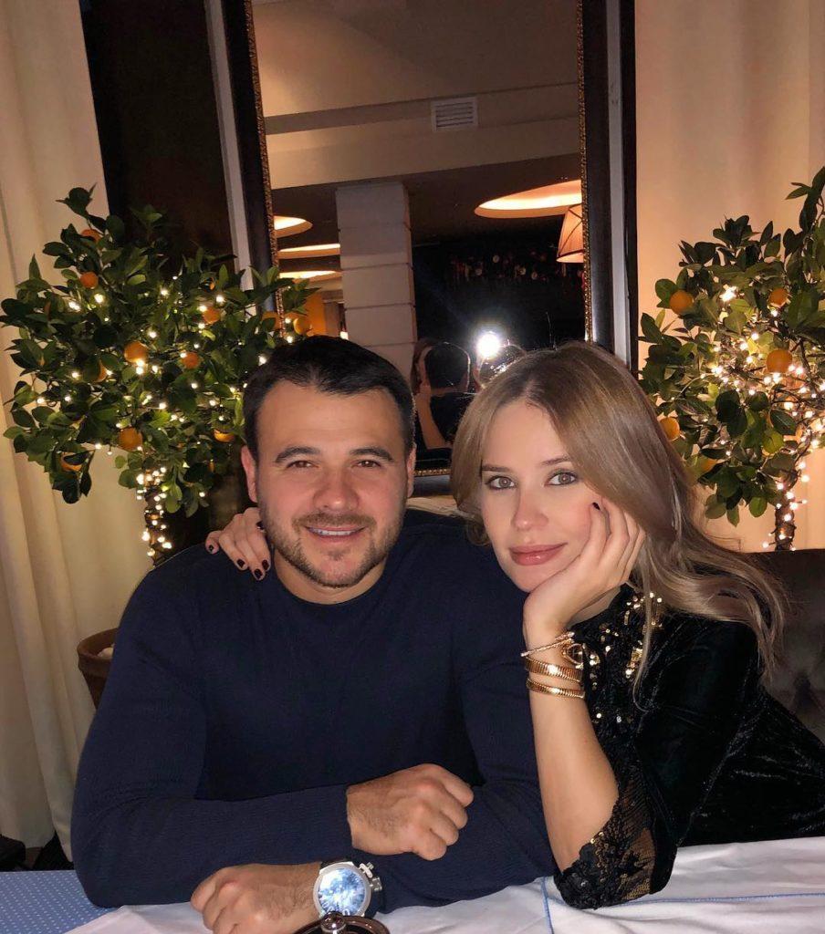 Отец в четвертый раз: Эмин Агаларов впервые показал новорожденную дочь от модели Алены Гавриловой
