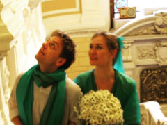 Кусок ткани или роскошное свадебное платье: Мария Машкова показала, как выглядела в день бракосочетания