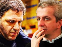 Дуэль из-за женщины: разъяренный Максим Виторган накинулся в кафе на режиссера Константина Богомолова
