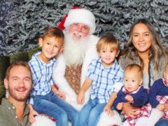 У Ника Вуйчича двойной праздник: глава семейства поздравляет с днем рождения жену и дочерей-близняшек