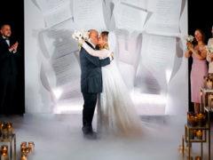 Екатерина Кокорина и Доминик Джокер сыграли свадьбу: новобрачных пришли поздравить все звезды шоу-бизнеса