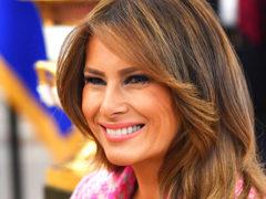 Меланья Трамп опозорилась на официальной встрече, после которой ее назвали «Первой Барби страны»