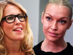 Анастасия Волочкова ответила на критику Собчак, назвав ее завистницей и «актрисой погорелого театра»