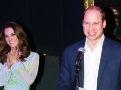 Миддлтон появилась на официальной вечеринке в нежном платье мятного цвета и «украла сердца» англичан
